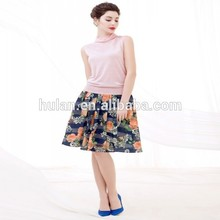 Moda pink lady chaleco de ganchillo suéter patrón