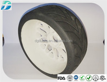 Small Rubber Toy Tyre / Rubber Tires For Toy Cars / Molded Rubber Toy Tire