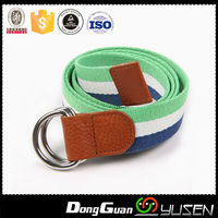 Fashion durable wholesale boys canvas belt with top quality