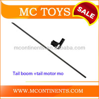 WL V911 RC helicopter Spare Parts Tail boom +tail motor mo