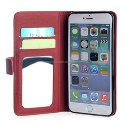 Mobile Phone Protective PU Leather Case Cover for iPhone 6 Plus