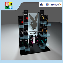 High quality acrylic display case for electronic cigarettes/customized design acrylic cigarette display stand made in China