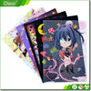 Custom Size Printing A4 A3 Plastic PP/PVC Clear Document Folder L Shape File Folder