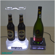 Factory direct price mellow bottle glorifier led lighting