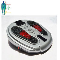infrared vibrating electromagnetic wave pulse foot massager