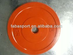 Rubber Bumper Plate strength training equipment