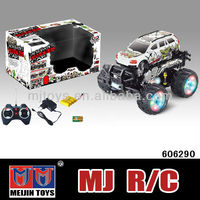 1 18 diecast model cars 4 ch rc car and truck remote control rc monster truck toy