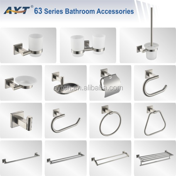 Luxe toilettes hardware set toilettes accessoires de bain for Accessoire salle de bain douche