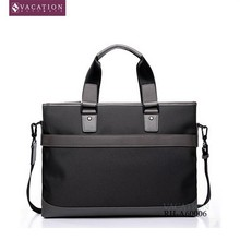"15"" Nylon Business Briefcase With 2 Compartments"
