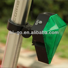 Road safety led light for electric bike