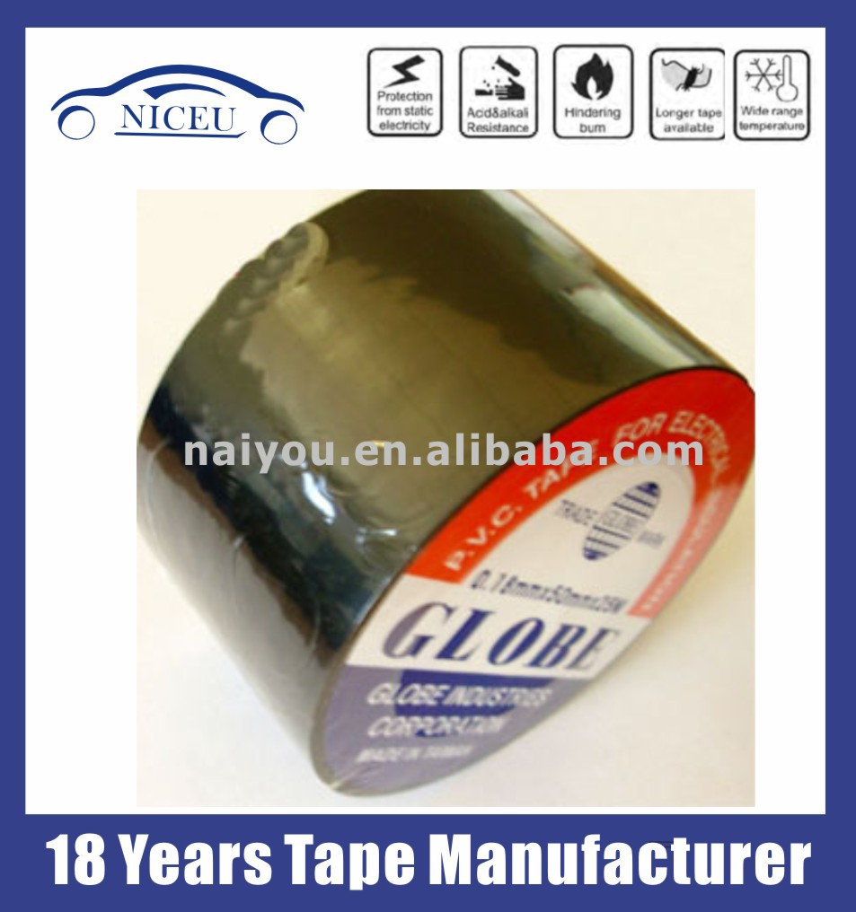 013mm19mm10yds Globe Pvc Tape For Automobile Wire Harness Wiring Manufacturers 5