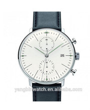 Hot selling wholesale bulk OEM man watch, high quality stainless steel chronograph man watch