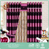 Home textile supplier High grade Sliding microfiber curtains