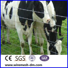 Factory direct sale cattle fence and hinge joint knot field fence mesh for animals & hinge joint field fencing &horse farm fence