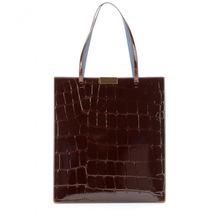Croc Effect Faux Patent Leather Tote ,China Handbag Manufacturer Handbag 2015