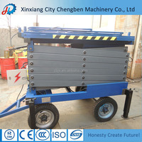 SJY Series Aerial Lift Platforms for Factory or Warehouse Use