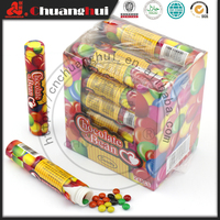 Chocolate Bean Candy In Tube