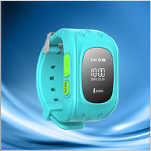 New style hotselling golf gps watch with waterproof---China supplier mini locator kids watch tracker with shock alarm