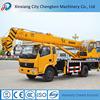 Henan popular building truck mounted crane manufacturer