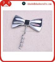 2015 creative bow tie corkscrew, wedding decoration corkscrew, creative corkscrew