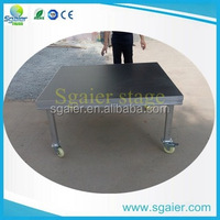 New design plywood portable stage outdoor stage for event for best sale