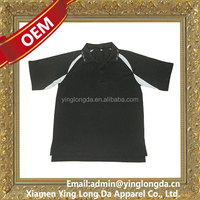 Cheapest promotional 100% polyester polo shirt long sleeve