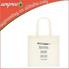 Cotton Canvas Eco Friendly Shoulder Bag Natural