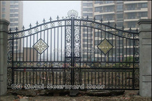 Wrought Iron Metal Main Gates For Garden