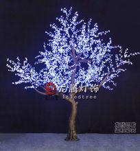 4.5m white led cherry tree