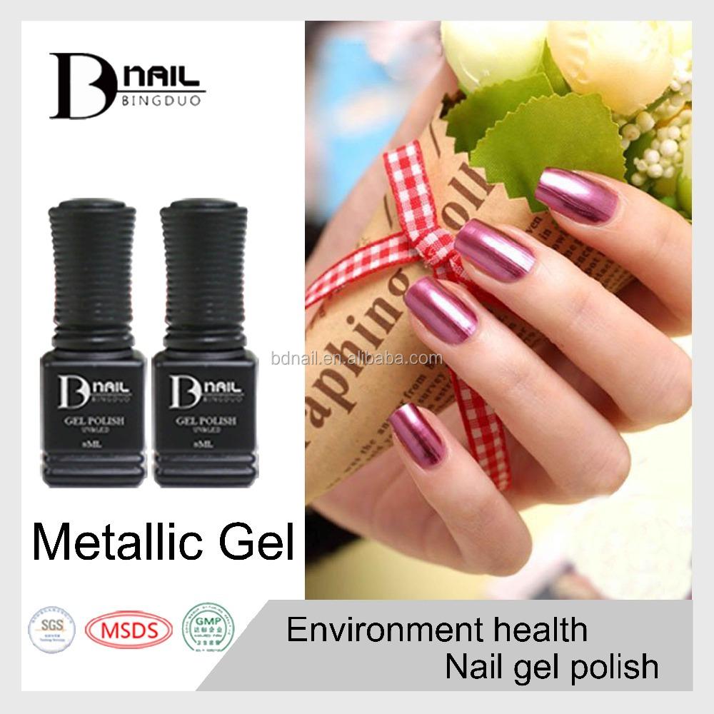 Unique Colors Nail Polish-metallic Gel Polish,36 Colors For Choosing ...