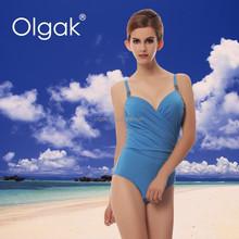 Olgak New Arrival Extreme High Quality Sexy Women One-piece Nude Swimsuit Bikini