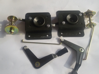 HOWOTruck front cover lock assembly