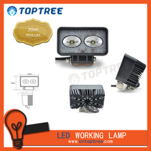 LED work light 20W 12V 24V flood lamp car accessories