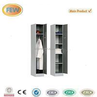 2 door metal almirah locker/steel wardrobe cabinet