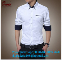 Top Quality mens shirts Comfortable Good Shapelatest shirt designs for men 2015 Cotton latest shirts for men pictures