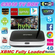 100% Original CS918 Android 4.4 Android Tv Box Ip Box Internet Tv Set Top box