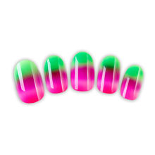 new fashion omber fake nails omber design press on nails