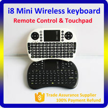 2016 New Arrival Rii i8 Air Mouse Mini Wireless Keyboard for Android TV Box