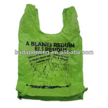 190T T 'Shirt Polyest Foldable Shopping Bag
