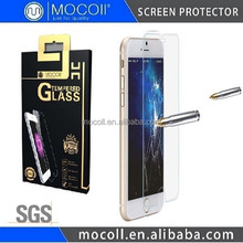 Premium Quality 9H Hardness 2.5D Tampered Glass For iPhone Glass Screen Protector For iPhone 6 0.33mm/0.21mm/0.15mm Available