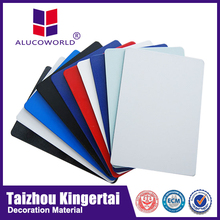 Alucoworld Offering Quality low cost advertising board aluminium composite advertising board walls panels
