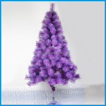 Hot Selling Purple Christmas Tree Blue Paillettes Decorated Artificial Christmas Tree