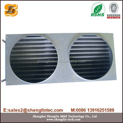 copper tube copper fin industrial heat exchanger for marine engine
