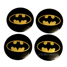 Promotion car stickers for sales us flag car sticler for wheel cover with Batman design
