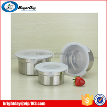 pcs stainless steel fresh box take away food container