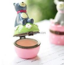 Wholesle Ball shaped cosmetic packaging/ Custom round empty lip balm/custom lip balm case
