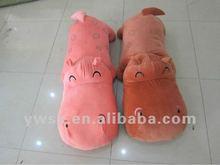 2012 fashion kids plush toy hippo