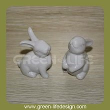 Hot sale ceramic rabbit & bunny figurine Easter Gift