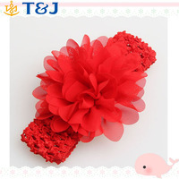 <<<New Baby Girls Chiffon FlowerInfant Hair Weave Band kids Hair Accessories Christmas Gifts Lace Headband/