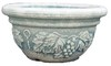 cheap chinese ceramic glazed painting designs flower pot